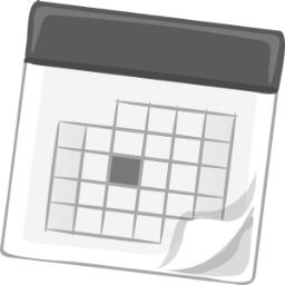 Graphic of a calendar.