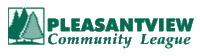 Logo for Pleasantview community league.